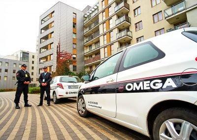 Omega Security - ochrona osiedli mieszkaniowych