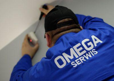 Omega Security - montaż systemów zabezpieczeń w Warszawie