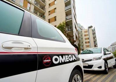Omega Security - flota pojazdów